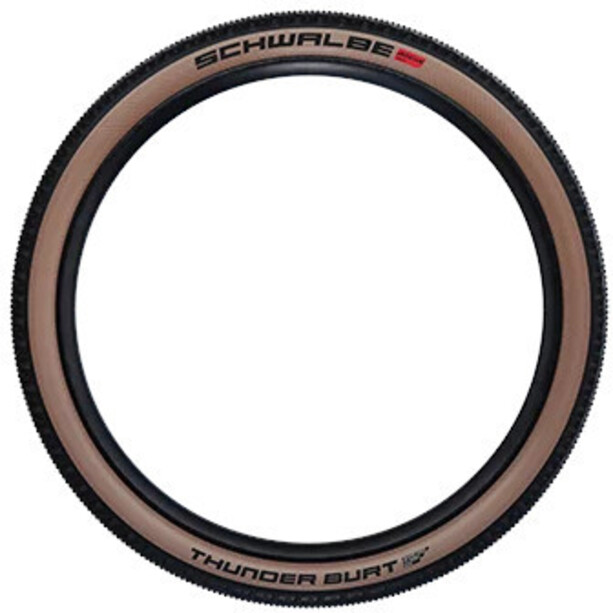 "SCHWALBE Thunder Burt Super Race Evolution Faltreifen 29x2.10"" TLE Addix Speed black/transparent"