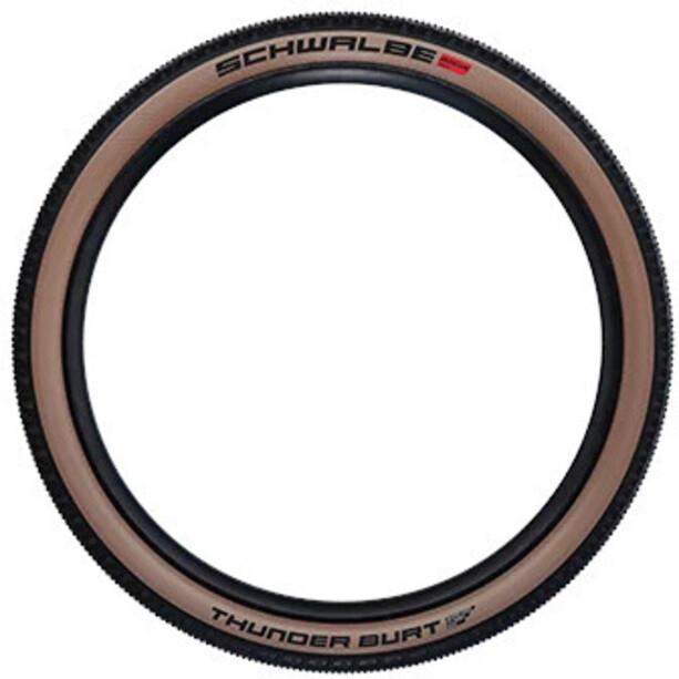 "SCHWALBE Thunder Burt Super Race Evolution Faltreifen 29x2.25"" TLE Addix Speed black/transparent"