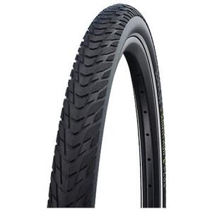 """SCHWALBE Marathon E-Plus Perform Clincher Tyre 28x1.50"""" Smart DualGuard E-50 Addix E Reflex black black"""