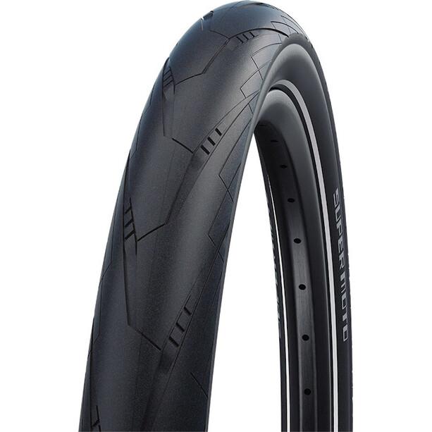 "SCHWALBE Super Moto Performance Drahtreifen 27.5x2.40"" RaceGuard E-50 Addix Reflex black"