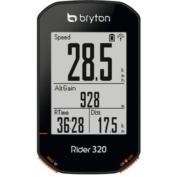 Bryton Rider 320 E Fahrradcomputer schwarz