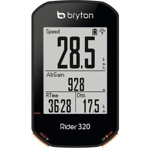 Bryton Rider 320 T Ajotietokone Kadenssianturilla/Sykemittarilla, musta musta