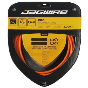 Jagwire Pro Hydraulic Câble de frein, orange orange