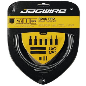 Jagwire Road Pro Brake Cable Kit ice グレー