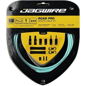 Jagwire Road Pro Brake Cable Kit bianchi/セレステ