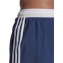 adidas 3 Stripes CLX Shorts Herren blau/weiß