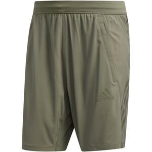 adidas Aeroready 3 Stripes Shorts Men, zielony zielony