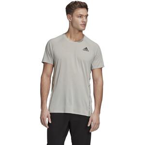 adidas Runner Kurzarm T-Shirt Herren metal grey metal grey