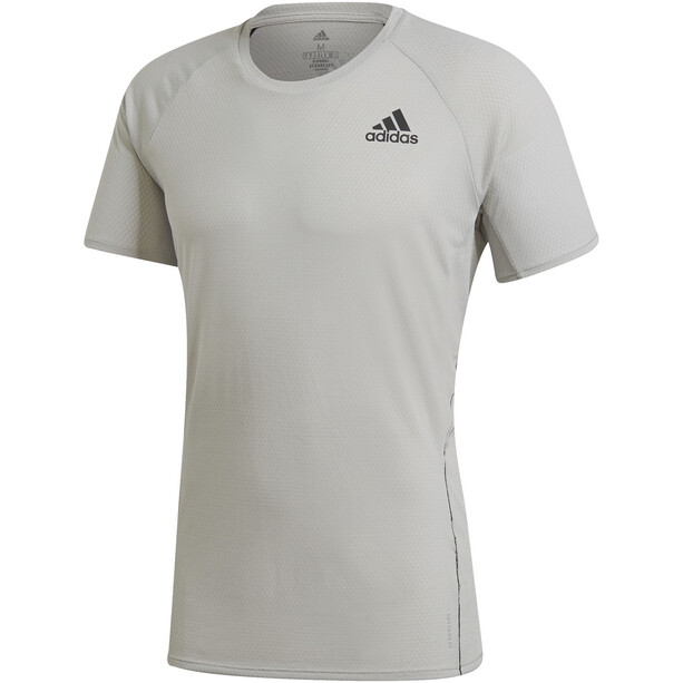 adidas Runner SS T-Shirt Men, metal grey