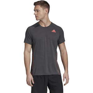 adidas Runner SS T-Shirt Men, dgh solid grey dgh solid grey