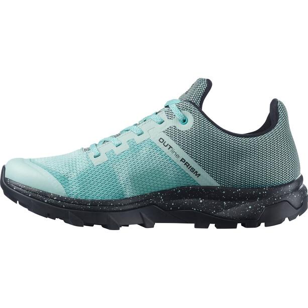 Salomon OUTline PRISM Shoes Women, turquoise/noir