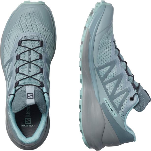 Salomon Sense Ride 4 Invisible GTX Shoes Women, turquoise