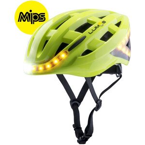Lumos Kickstart MIPS Helm electric lime electric lime