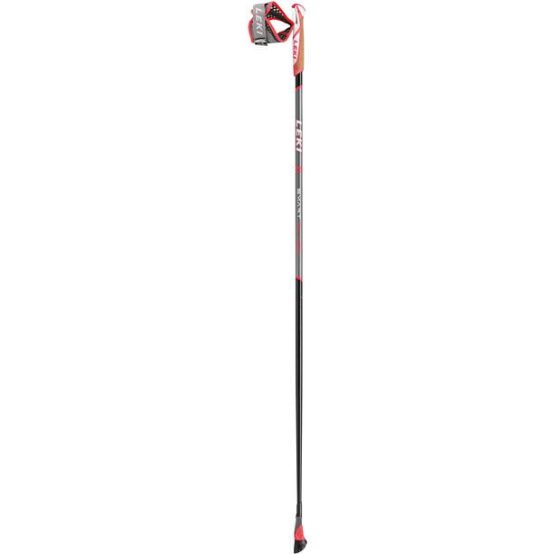 LEKI Smart Flash Walking Poles Smart Tip, noir/gris