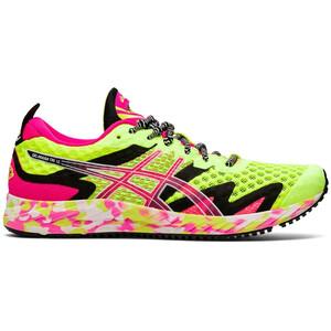 asics Gel-Noosa Tri 12 Schuhe Damen safety yellow/pink glo safety yellow/pink glo