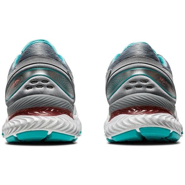 asics Gel-Nimbus 22 Schuhe Damen sheet rock/white