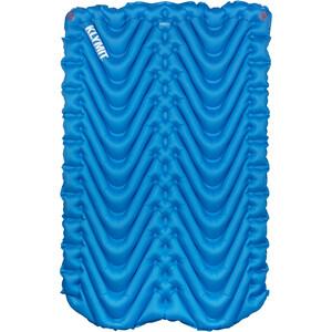 Klymit Double V Sleeping Mat, bleu bleu