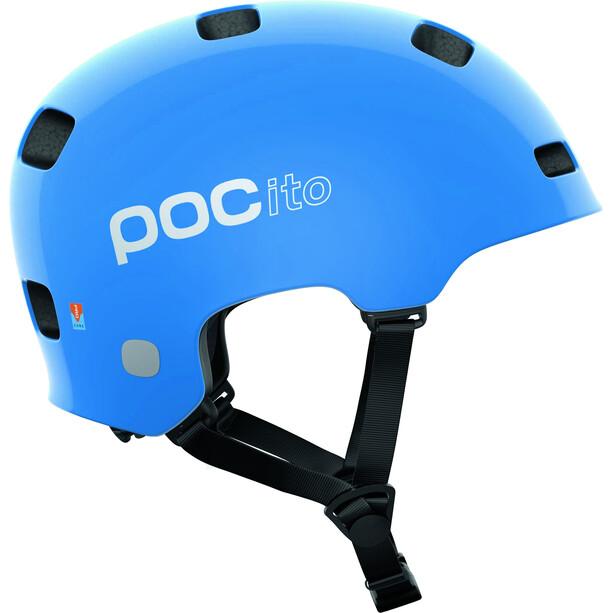 POC POCito Crane MIPS Helm Kinder fluorescent blue