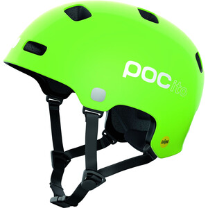 POC POCito Crane MIPS Helm Kinder fluorescent yellow/green fluorescent yellow/green
