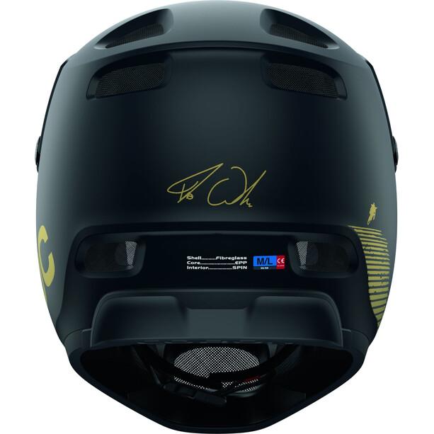 POC Coron Air SPIN Fabio Edition Helm uranium black matt/gold