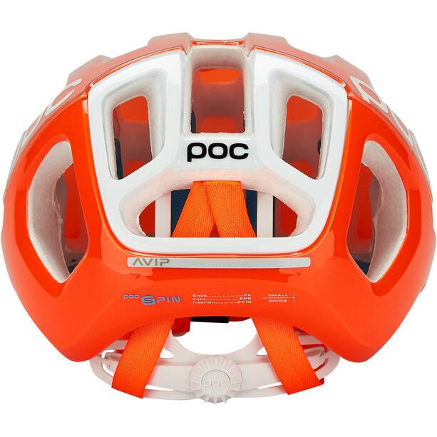 POC Ventral Tempus SPIN Helmet orange