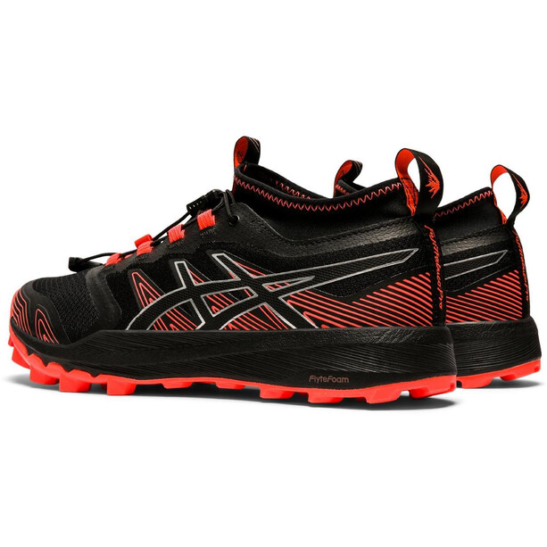 asics FujiTrabuco Pro Schuhe Damen schwarz/rot