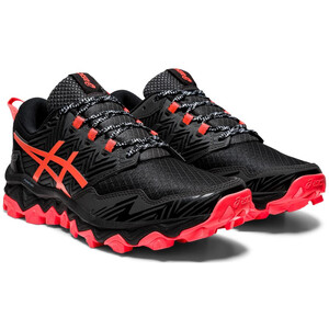 asics Gel-FujiTrabuco 8 Schuhe Damen black/sunrise red black/sunrise red