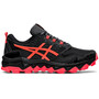 asics Gel-FujiTrabuco 8 Schuhe Damen black/sunrise red