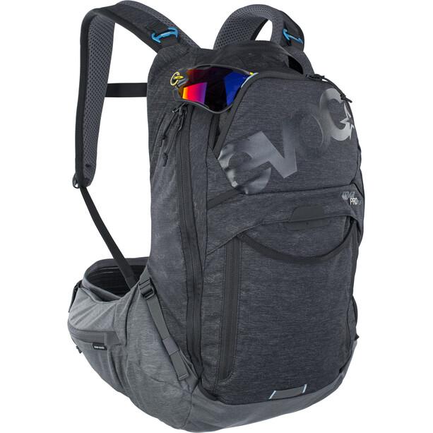 EVOC Trail Pro 16 Protektor Rucksack black/carbon grey