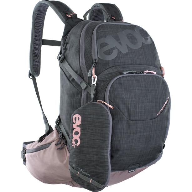 EVOC Explr Pro Technical Performance Pack 26l carbon grey/dusty pink