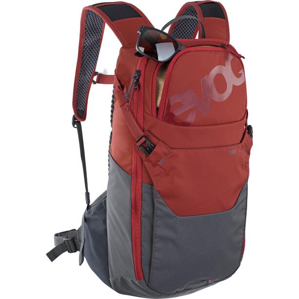 EVOC Ride 12 Rucksack 12l + 2l Trinkblase rot/grau