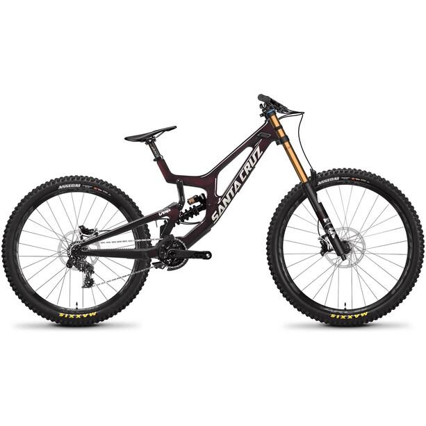 """Santa Cruz V10 7 MX CC 27.5/29"""" DH X01-Kit rot"""