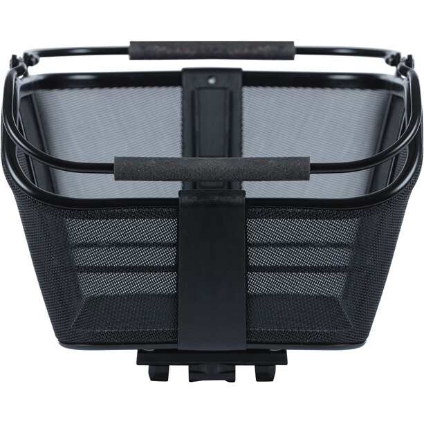 Basil Cento Tech Fiber Fahrradkorb Nordlicht MIK solid black