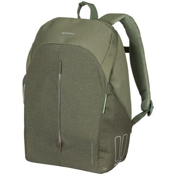 Basil B-Safe Nordlicht Commuter Backpack Women, olive green