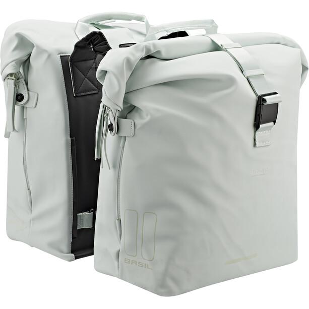 Basil SoHo Dobbelt taske Nordlicht 41l, grøn