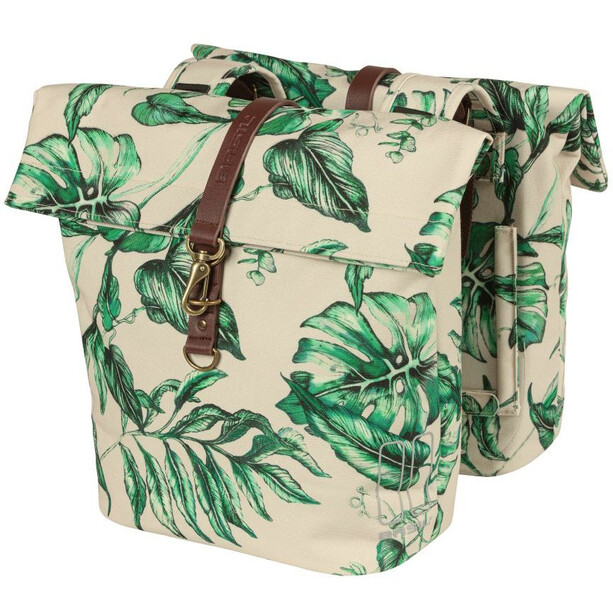 Basil Ever-Green Doppelpacktasche 28-38l beige