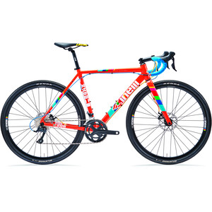 Cinelli Zydeco Lala rot/bunt rot/bunt
