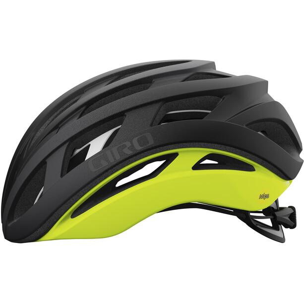 Giro Helios Spherical Helmet svart/gul