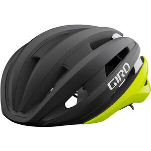 Giro Synthe Mips II Helmet, noir/jaune noir/jaune
