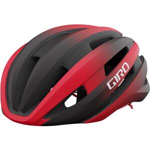 Giro Synthe Mips II Helmet, zwart/rood zwart/rood