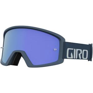 Giro Blok MTB Goggles grau/blau grau/blau