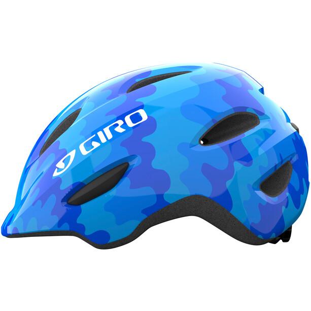 Giro Scamp Helm Kinder blau