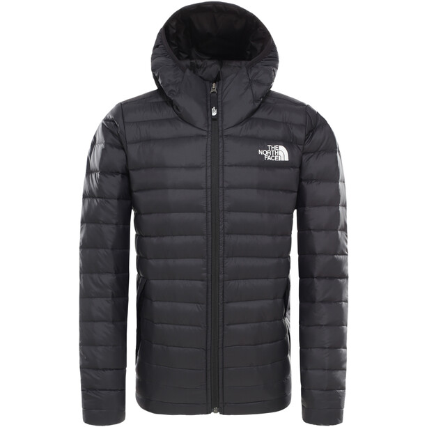 The North Face Aconcagua Down Hoodie Boys TNF black/TNF white