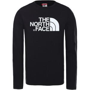 The North Face Easy LS Tee Kids TNF black/TNF white TNF black/TNF white