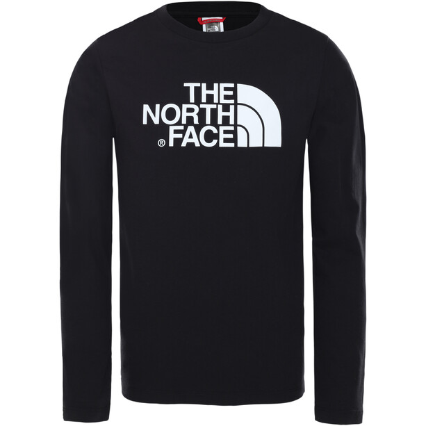 The North Face Easy LS Tee Kids TNF black/TNF white