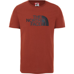 The North Face Easy SS Tee Men brandy brown brandy brown