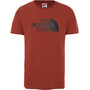 The North Face Easy SS Tee Men brandy brown