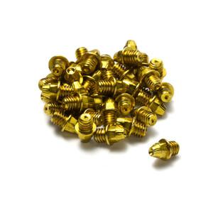 Reverse Pedalpin Set M4x4mm 24 Stück gold gold