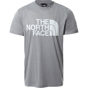 The North Face Reaxion Easy Tee Men mid grey heather mid grey heather