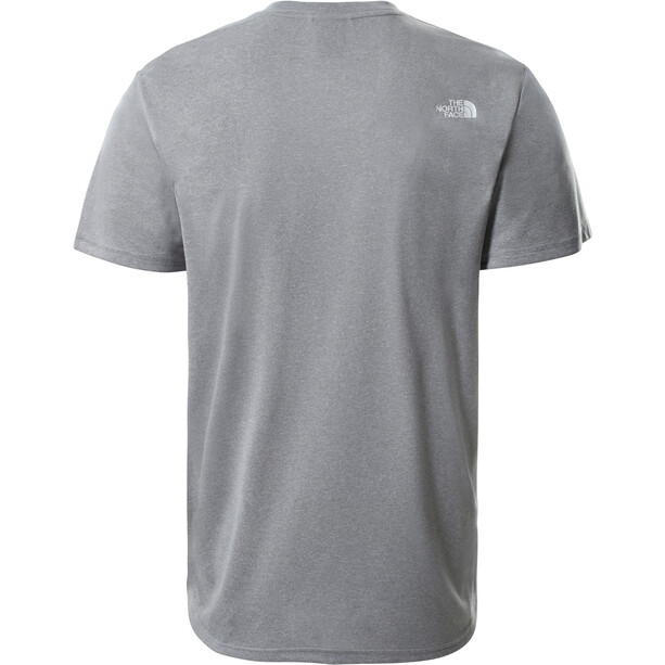 The North Face Reaxion Easy Tee Men mid grey heather